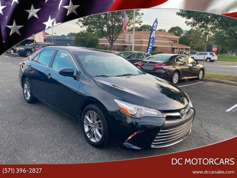 2017 Toyota Camry for sale at DC Motors in Springfield VA
