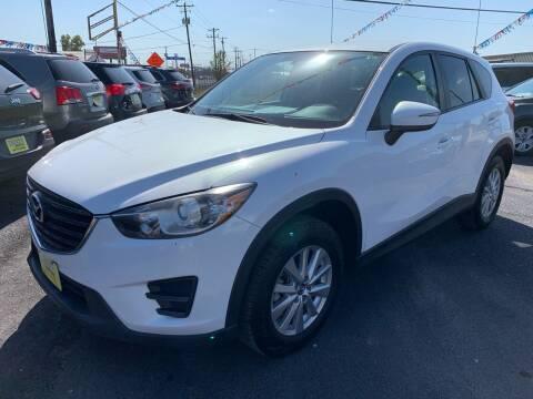 2016 Mazda CX-5 for sale at Rock Motors LLC in Victoria TX