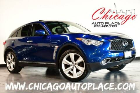 2017 Infiniti QX70 for sale at Chicago Auto Place in Bensenville IL
