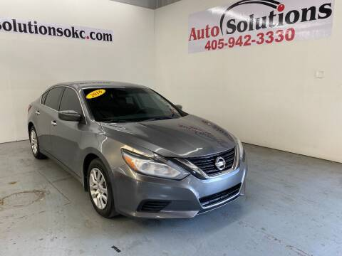 2016 Nissan Altima for sale at Auto Solutions in Warr Acres OK