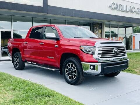 2020 Toyota Tundra for sale at RUSTY WALLACE CADILLAC GMC KIA in Morristown TN