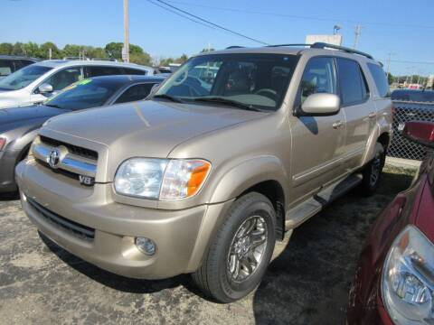 2005 Toyota Sequoia for sale at Fox River Motors, Inc in Green Bay WI