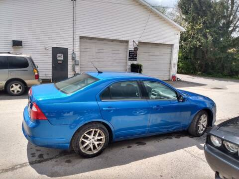 2012 Ford Fusion for sale at ROUTE 119 AUTO SALES & SVC in Homer City PA