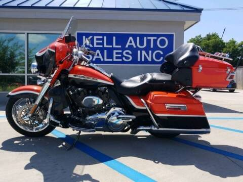 2012 Harley-Davidson FLHTCUSE7 CVO Ultra Classic EG for sale at Kell Auto Sales, Inc in Wichita Falls TX