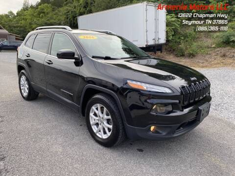 2016 Jeep Cherokee for sale at Armenia Motors in Seymour TN
