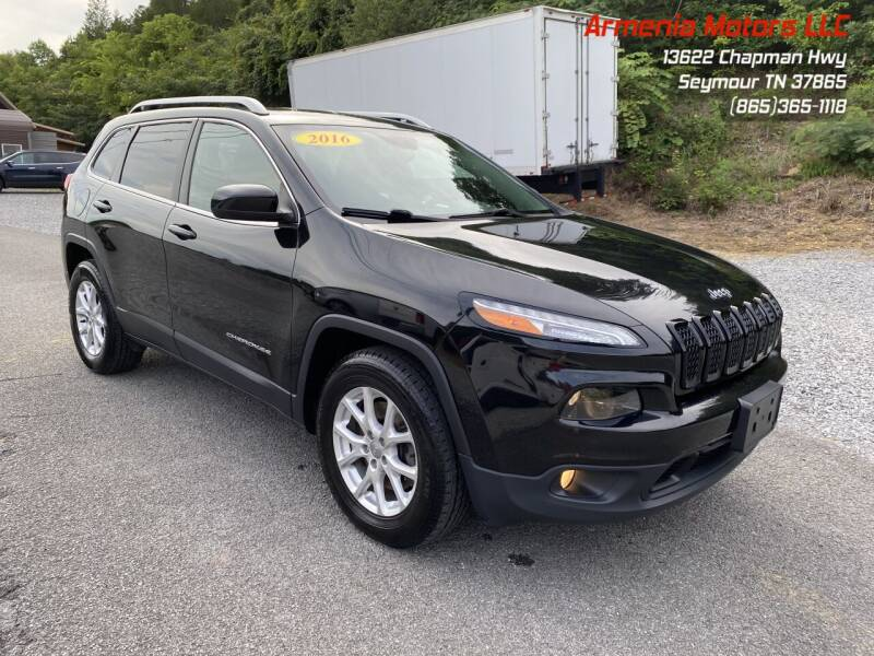 2016 Jeep Cherokee for sale at Armenia Motors in Seymour TN