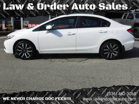 2014 Honda Civic for sale at Law & Order Auto Sales in Pilot Mountain NC