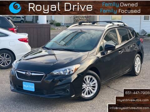2018 Subaru Impreza for sale at Royal Drive in Newport MN