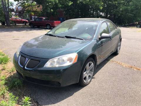 2007 Pontiac G6 for sale at Beachside Motors, Inc. in Ludlow MA