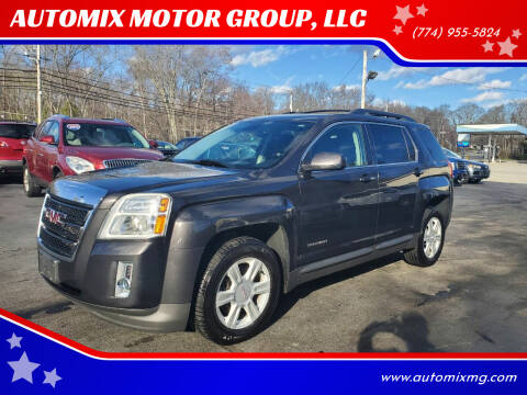2015 GMC Terrain for sale at AUTOMIX MOTOR GROUP, LLC in Swansea MA
