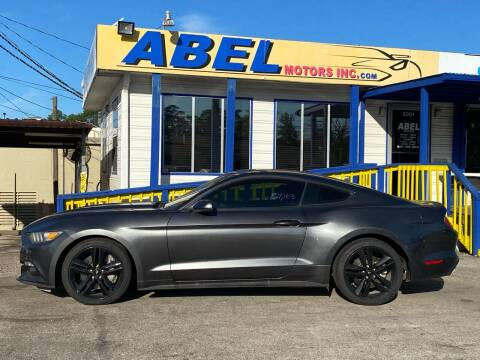 2015 Ford Mustang for sale at Abel Motors, Inc. in Conroe TX