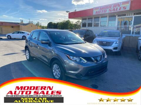 2019 Nissan Rogue Sport for sale at Modern Auto Sales in Hollywood FL