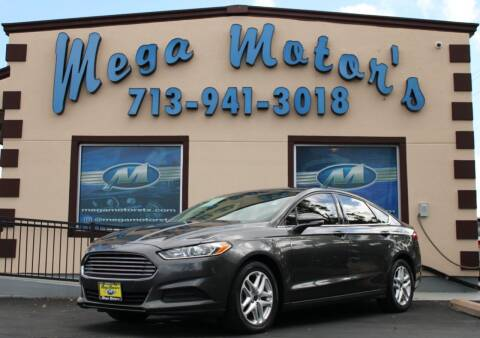 2015 Ford Fusion for sale at MEGA MOTORS in South Houston TX
