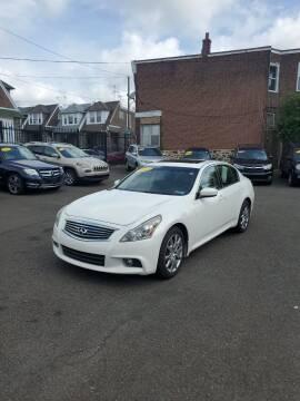 2012 Infiniti G37 Sedan for sale at Key & V Auto Sales in Philadelphia PA