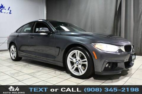 2016 BMW 4 Series for sale at AUTO HOLDING in Hillside NJ