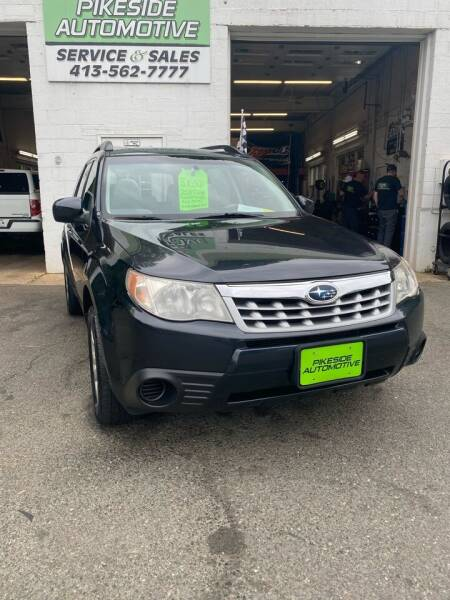 2013 Subaru Forester for sale at Pikeside Automotive in Westfield MA