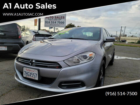 2014 Dodge Dart for sale at A1 Auto Sales in Sacramento CA