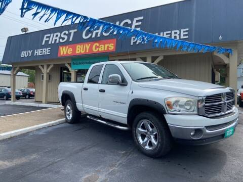 2007 Dodge Ram Pickup 1500 for sale at First Choice Auto Sales in Rock Island IL