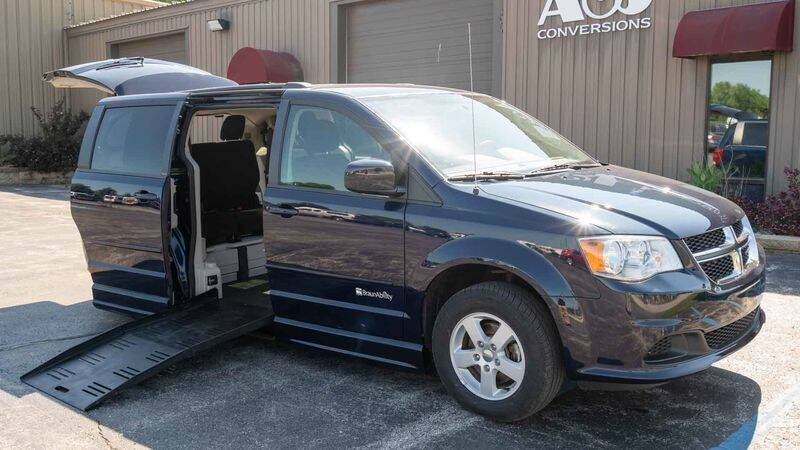 2013 Dodge Grand Caravan for sale at A&J Mobility in Valders WI