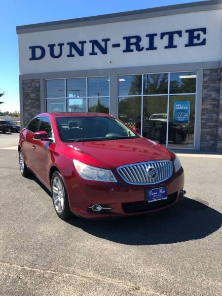 2011 Buick LaCrosse for sale at Dunn-Rite Auto Group in Kilmarnock VA