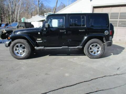 2011 Jeep Wrangler Unlimited for sale at Route 4 Motors INC in Epsom NH