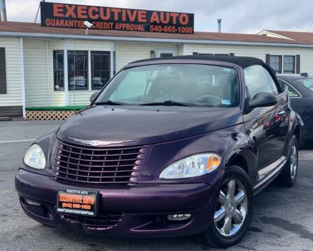 2005 Chrysler PT Cruiser for sale at Executive Auto in Winchester VA