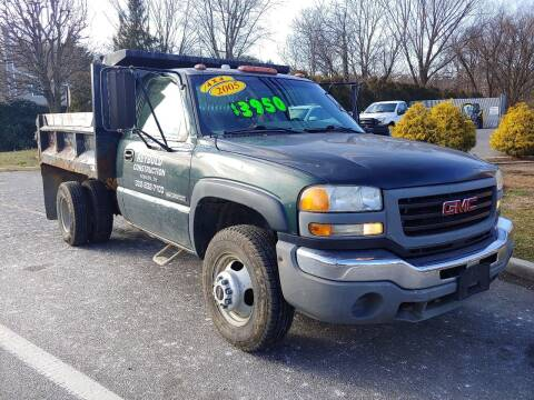 2005 GMC Sierra 3500 for sale at Motor Pool Operations in Hainesport NJ