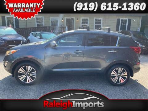 2014 Kia Sportage for sale at Raleigh Imports in Raleigh NC