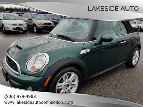2011 MINI Cooper for sale at Lakeside Auto in Lynnwood WA
