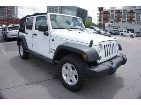 2017 Jeep Wrangler Unlimited for sale at BEAMAN TOYOTA - Beaman Buick GMC in Nashville TN
