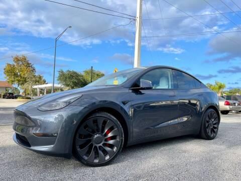 2021 Tesla Model Y for sale at Blum's Auto Mart in Port Orange FL