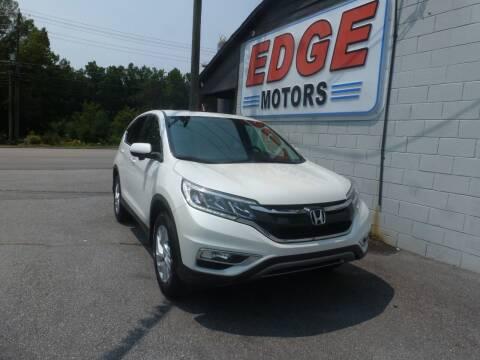 2015 Honda CR-V for sale at Edge Motors in Mooresville NC