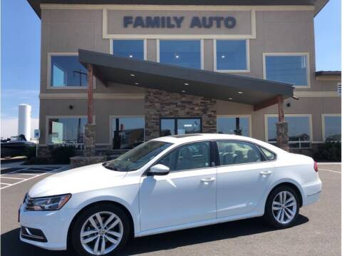 2019 Volkswagen Passat for sale at Moses Lake Family Auto Center in Moses Lake WA