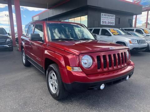 2014 Jeep Patriot for sale at JQ Motorsports in Tucson AZ