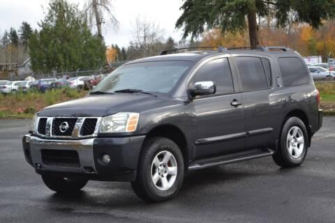 2004 Nissan Armada for sale at Skyline Motors Auto Sales in Tacoma WA