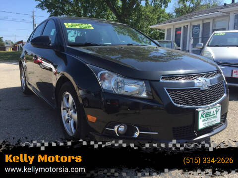 2014 Chevrolet Cruze for sale at Kelly Motors in Johnston IA