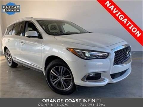 2016 Infiniti QX60 for sale at ORANGE COAST CARS in Westminster CA