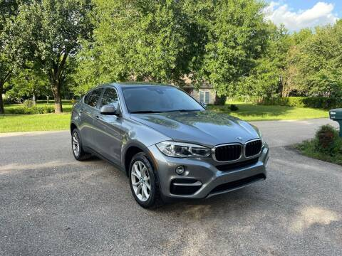 2016 BMW X6 for sale at CARWIN MOTORS in Katy TX