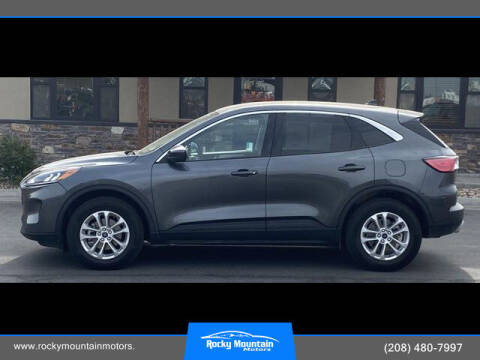 2020 Ford Escape for sale at Rocky Mountain Motors in Idaho Falls ID