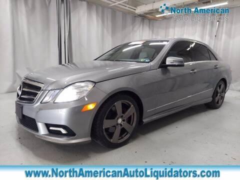 2011 Mercedes-Benz E-Class for sale at North American Auto Liquidators in Essington PA
