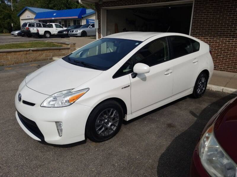 2013 Toyota Prius for sale at Indiana Auto Sales Inc in Bloomington IN
