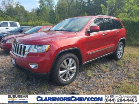 2011 Jeep Grand Cherokee for sale at Suburban Chevrolet in Claremore OK