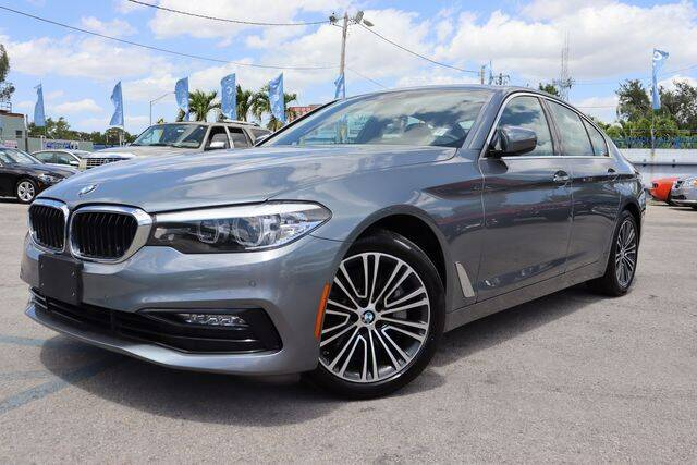 2018 BMW 5 Series for sale at OCEAN AUTO SALES in Miami FL