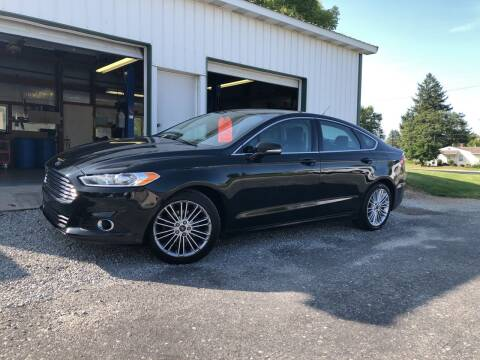 2014 Ford Fusion for sale at Purpose Driven Motors in Sidney OH