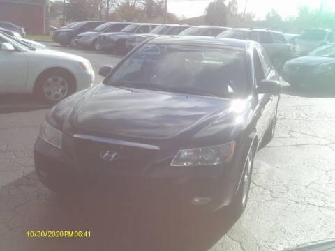 2006 Hyundai Sonata for sale at Flag Motors in Columbus OH