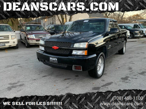 2003 Chevrolet Silverado 1500 SS for sale at DEANSCARS.COM in Bridgeview IL