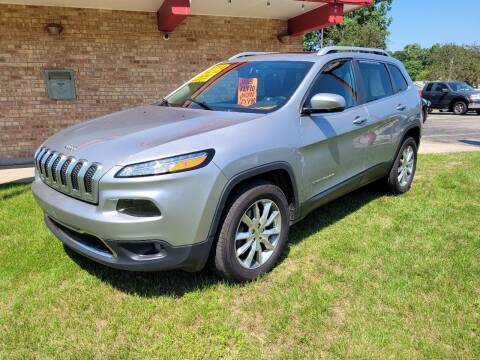 2014 Jeep Cherokee for sale at Murdock Used Cars in Niles MI
