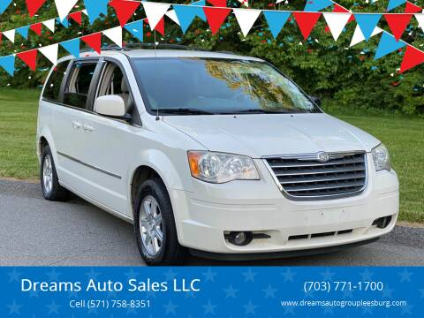2010 Chrysler Town and Country for sale at Dreams Auto Sales LLC in Leesburg VA