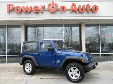 2009 Jeep Wrangler for sale at Power On Auto LLC in Monroe NC