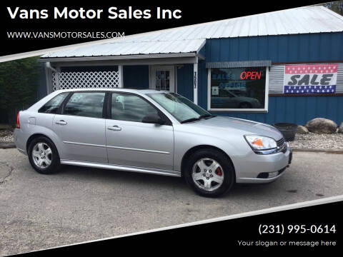 2004 Chevrolet Malibu Maxx for sale at Vans Motor Sales Inc in Traverse City MI